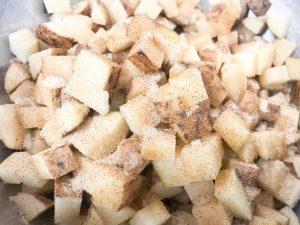 Crispy Potatoes Close Up