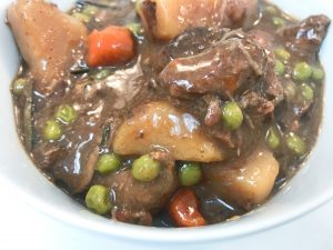 Close Up of Beef Stew