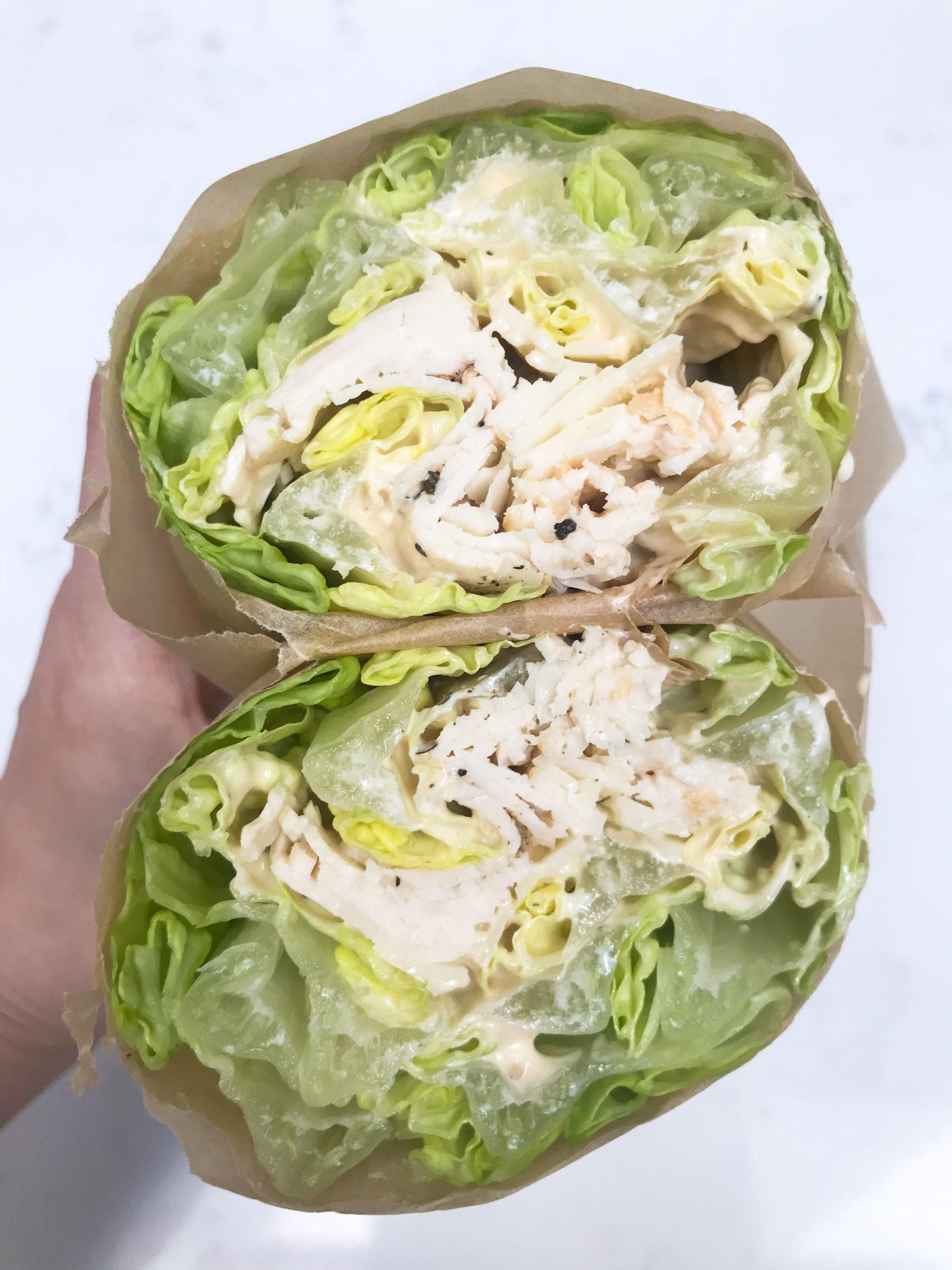 The Chicken Caesar Unwich