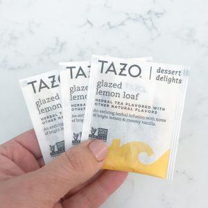 Tazo Lemon Loaf Tea