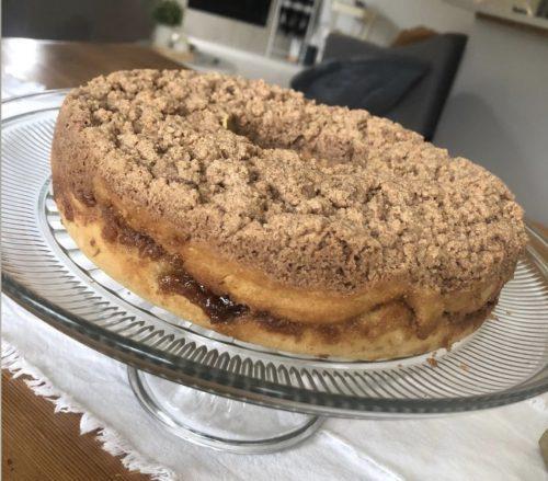 Cinnamon Coffee Cake- GF DF